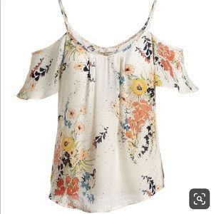 Joie Adorlee Floral print blouse